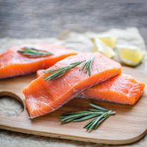 سمك سالمون نرويجى فيليه بدون جلد
